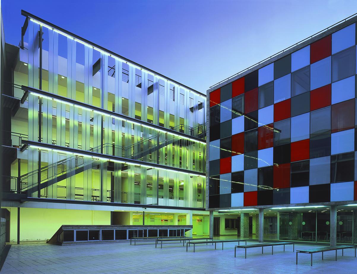 Infraestructura magister territorio y paisaje for Facultad de arquitectura