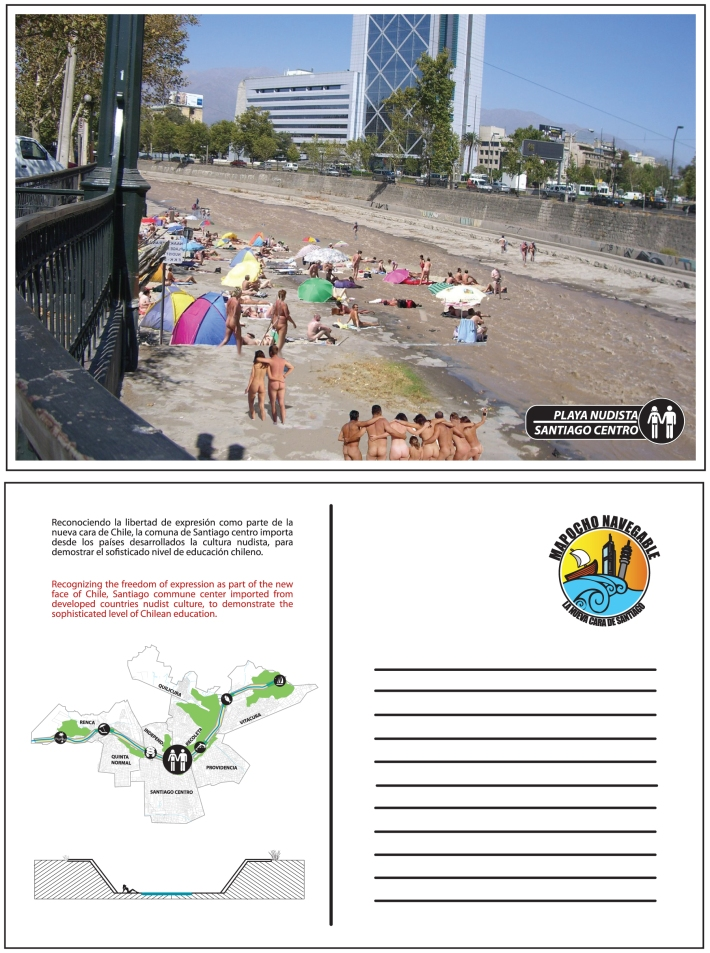 Playa Nudista Santiago Centro
